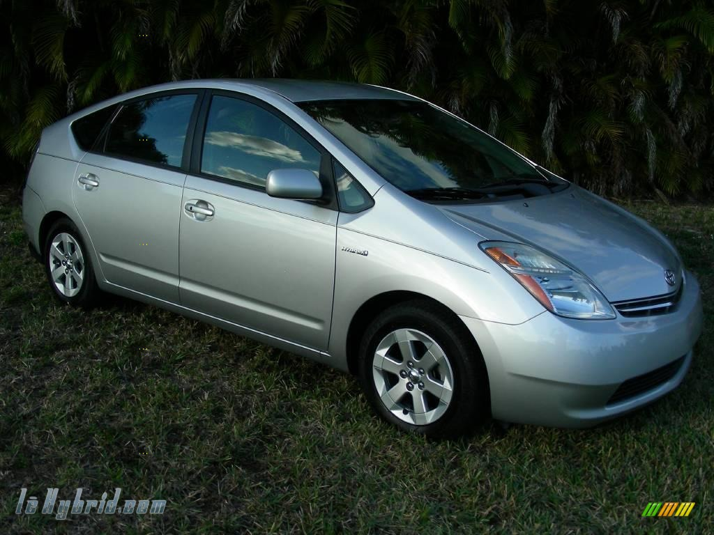 2006 Prius Hybrid - Classic Silver Metallic / Gray photo #3