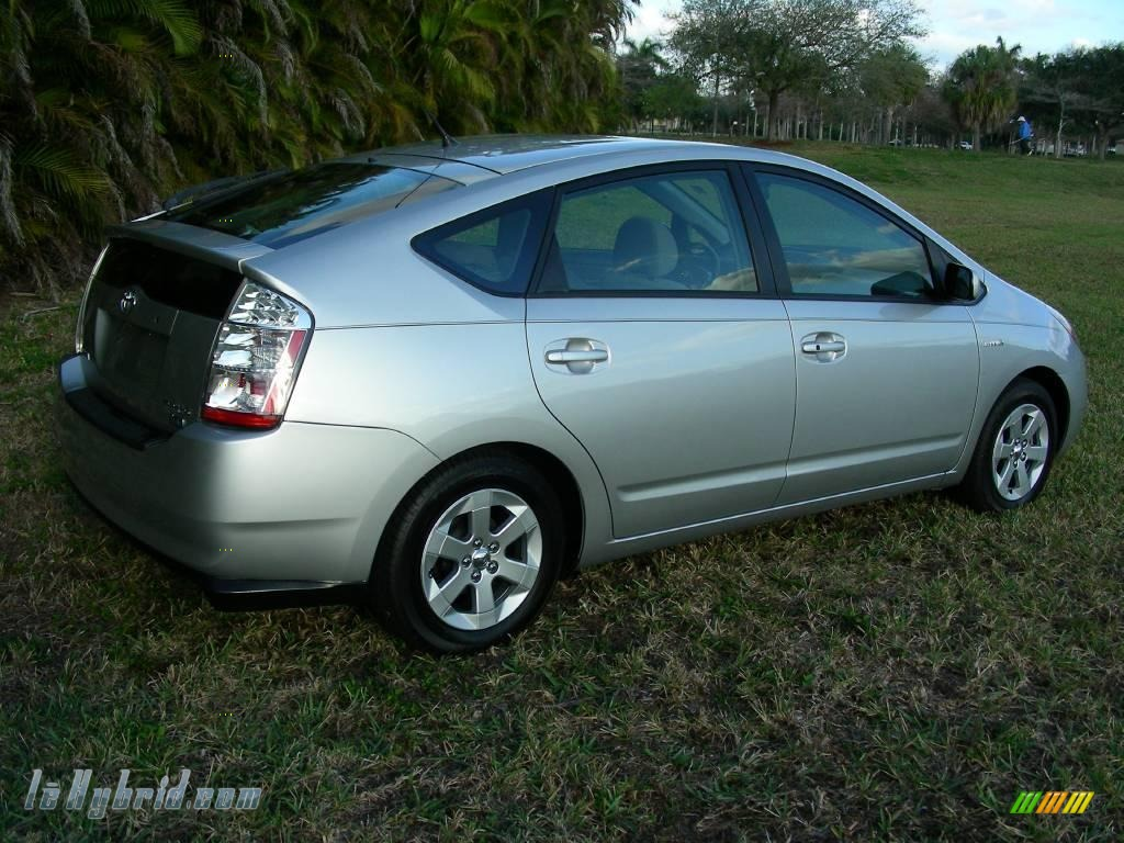 2006 Prius Hybrid - Classic Silver Metallic / Gray photo #6