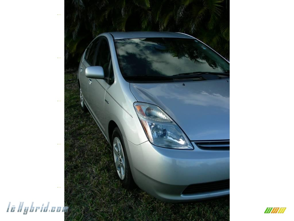2006 Prius Hybrid - Classic Silver Metallic / Gray photo #9