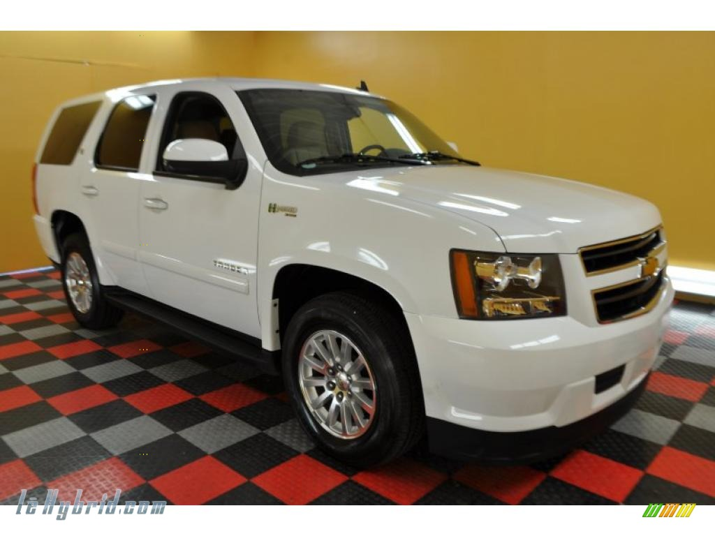 2008 chevrolet tahoe hybrid 4x4 in summit white photo 7 190871 hybrid cars. Black Bedroom Furniture Sets. Home Design Ideas