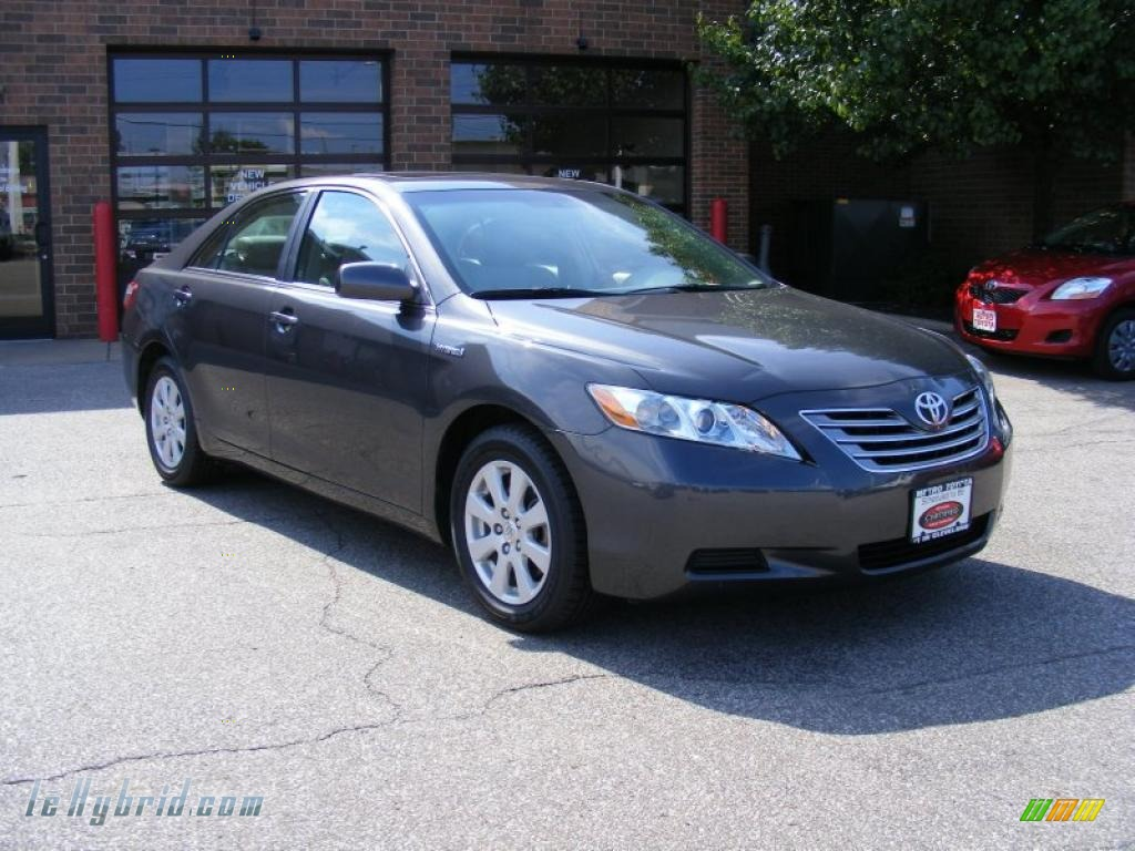 2008 toyota camry hybrid in magnetic gray metallic 048153 hybrid cars. Black Bedroom Furniture Sets. Home Design Ideas