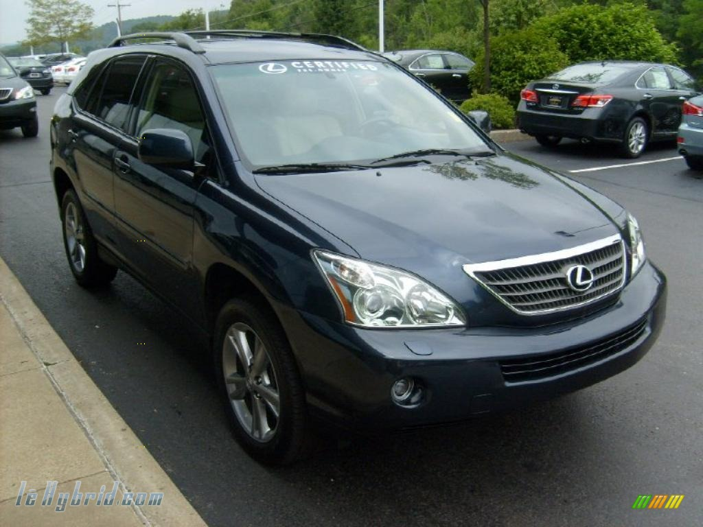 2006 lexus rx 400h awd hybrid in neptune blue mica photo. Black Bedroom Furniture Sets. Home Design Ideas