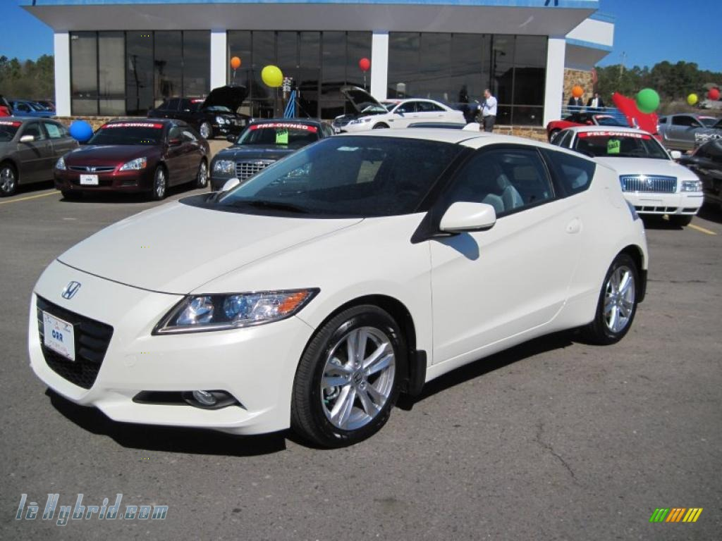 2011 honda cr z ex sport hybrid in premium white pearl 011826 hybrid cars. Black Bedroom Furniture Sets. Home Design Ideas