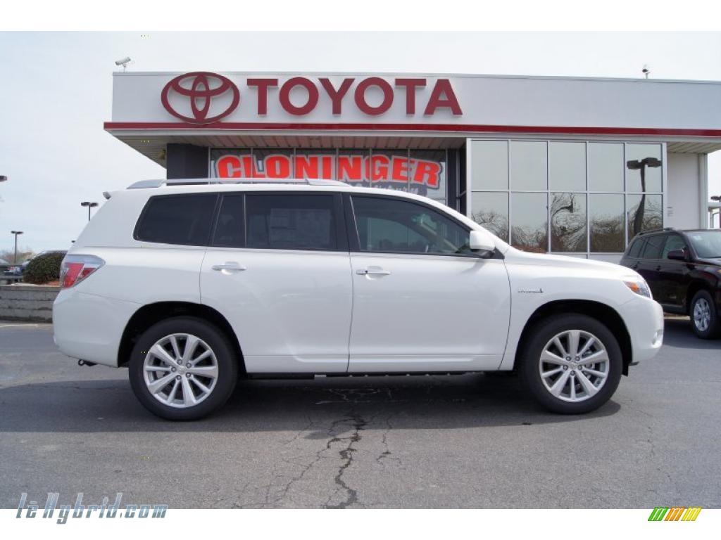 2010 Toyota Highlander Hybrid Limited 4wd In Blizzard