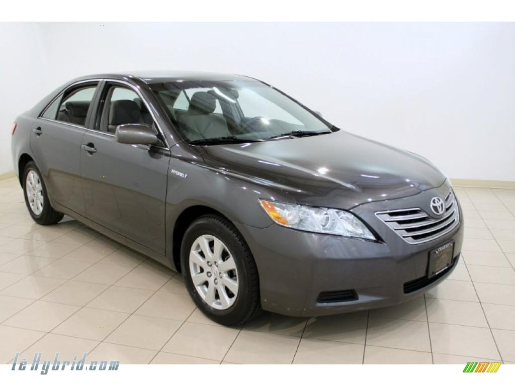 2009 Toyota Camry Hybrid In Magnetic Gray Metallic