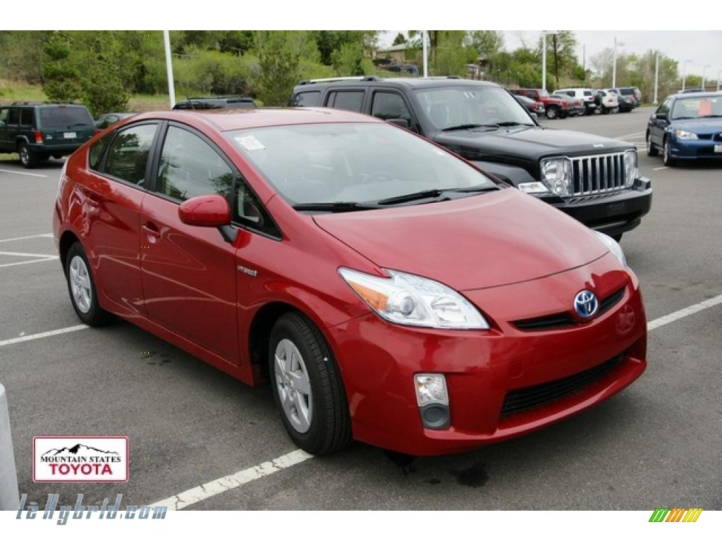 2010 toyota prius hybrid ii in barcelona red metallic for Prius electric motor for sale
