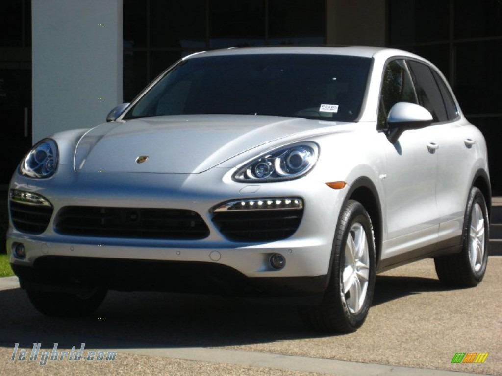 2012 Porsche Cayenne S Hybrid in Classic Silver Metallic - A90788 ...