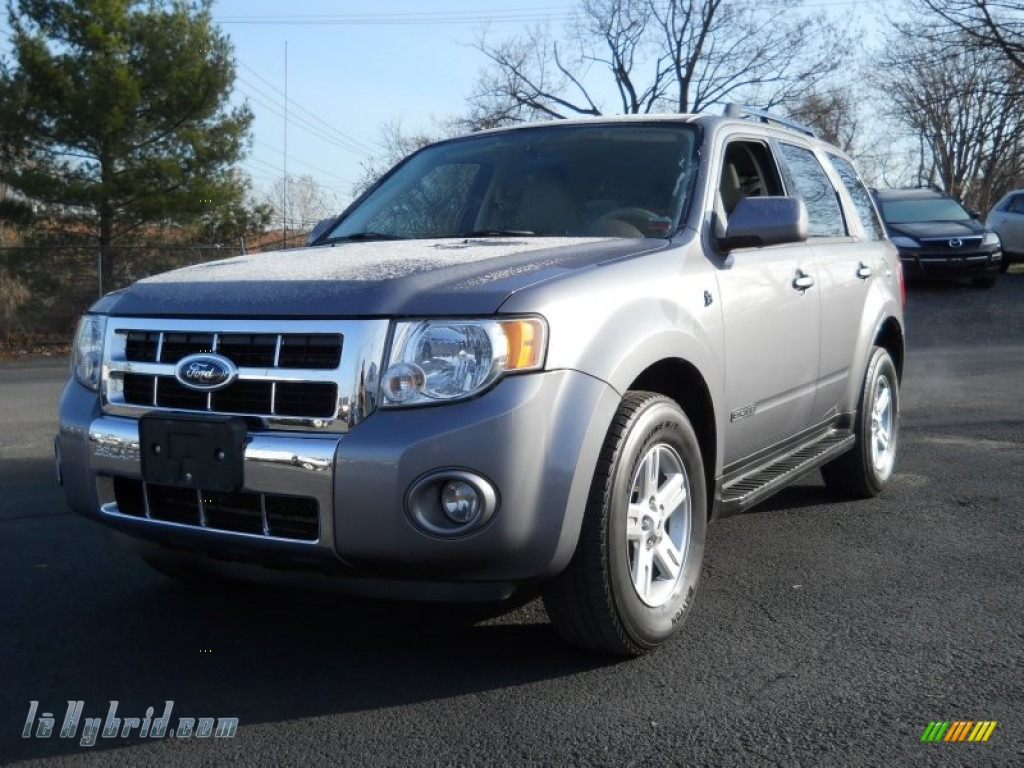 2008 ford escape hybrid 4wd in tungsten grey metallic. Black Bedroom Furniture Sets. Home Design Ideas