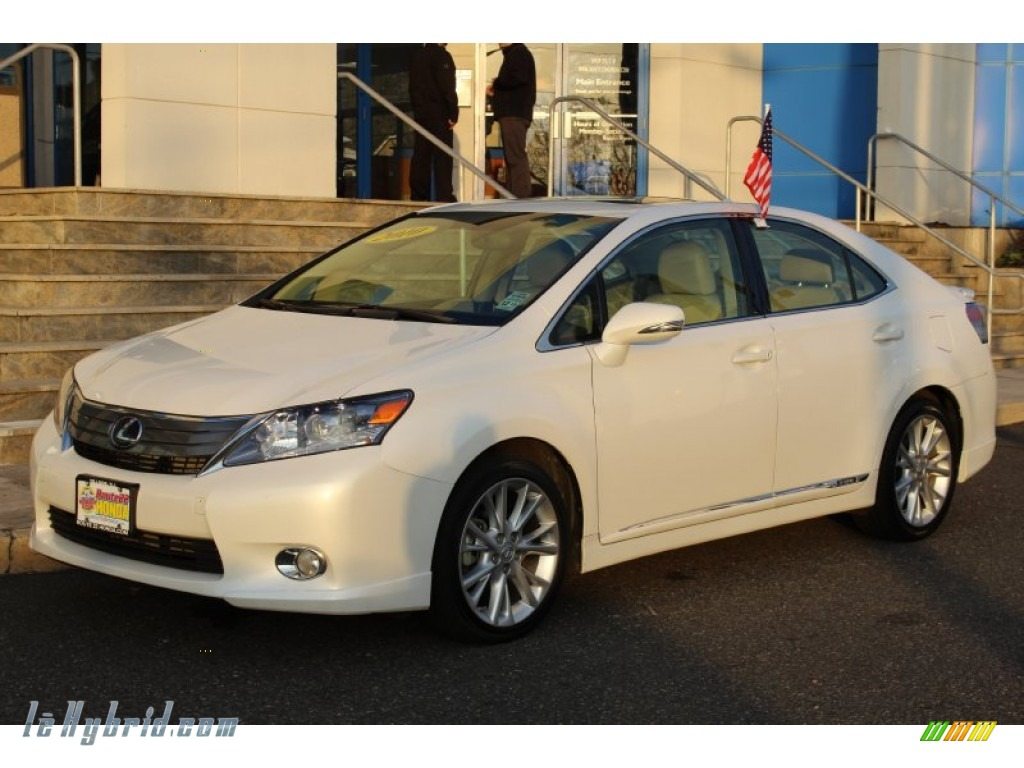 2010 lexus hs 250h hybrid premium in starfire white pearl 014492 hybrid cars. Black Bedroom Furniture Sets. Home Design Ideas
