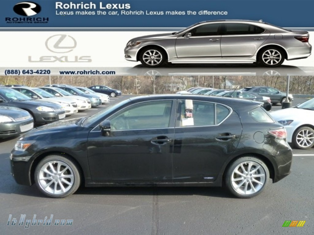 Obsidian Black / Caramel Nuluxe Lexus CT 200h Hybrid Premium