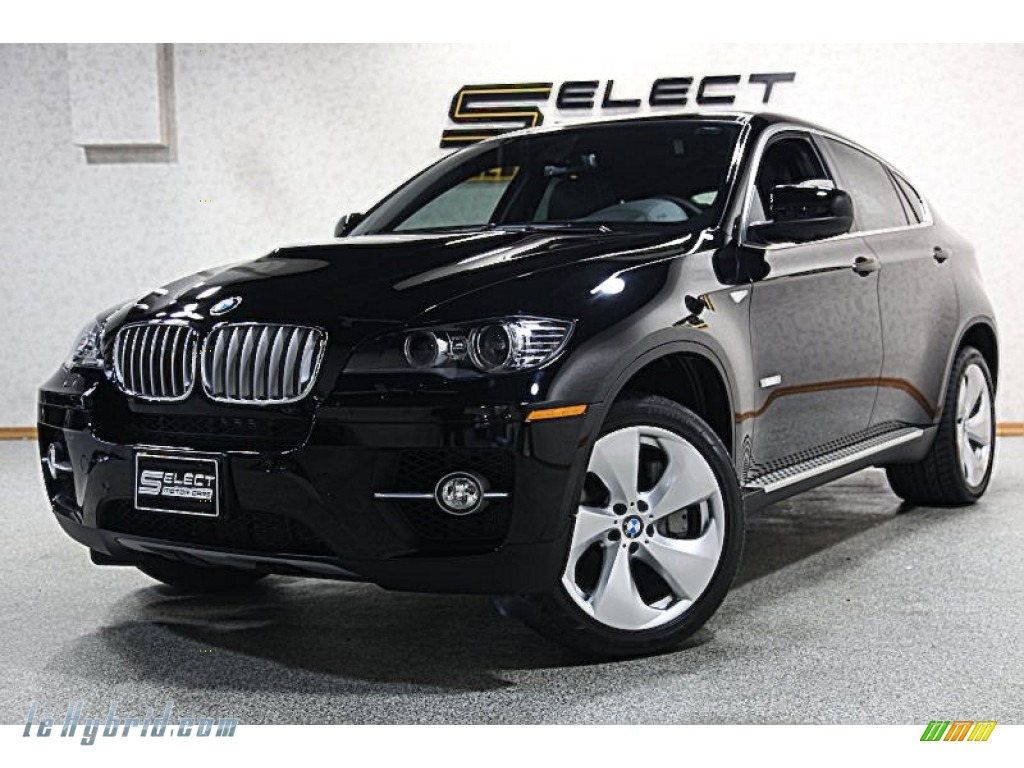 Jet Black / Black BMW X6 ActiveHybrid