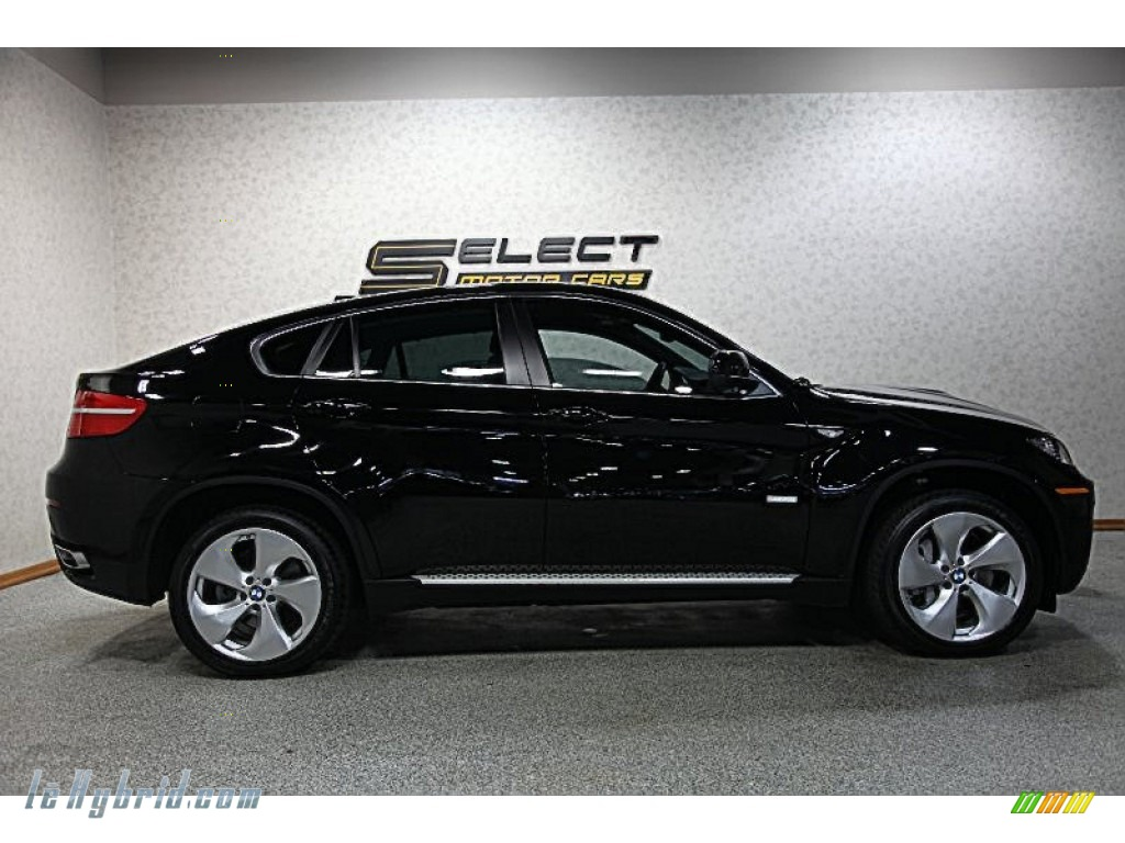 2011 X6 ActiveHybrid - Jet Black / Black photo #4