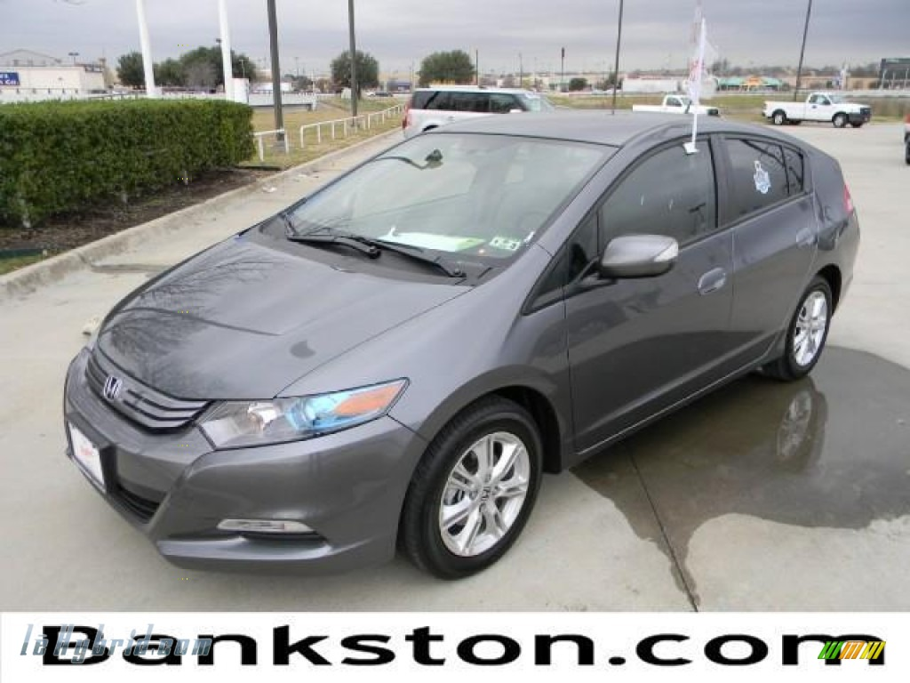 2011 Insight Hybrid EX Navigation - Polished Metal Metallic / Gray photo #1