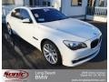 BMW 7 Series ActiveHybrid 750Li Sedan Alpine White photo #1