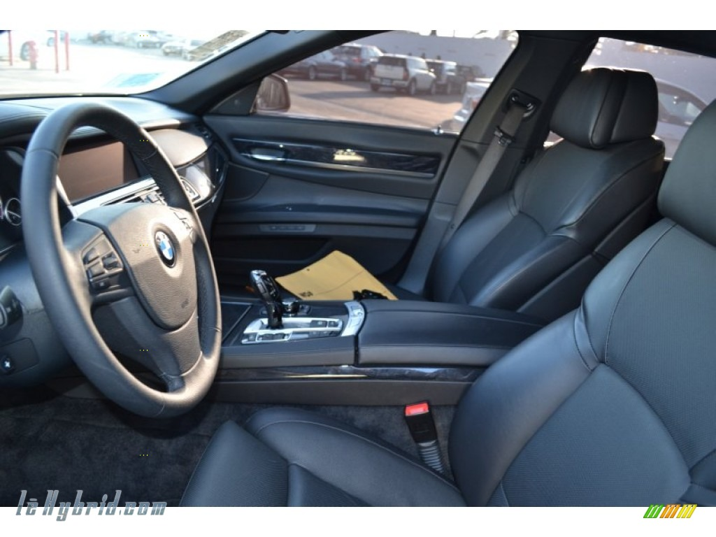 2011 7 Series ActiveHybrid 750Li Sedan - Alpine White / Black photo #5