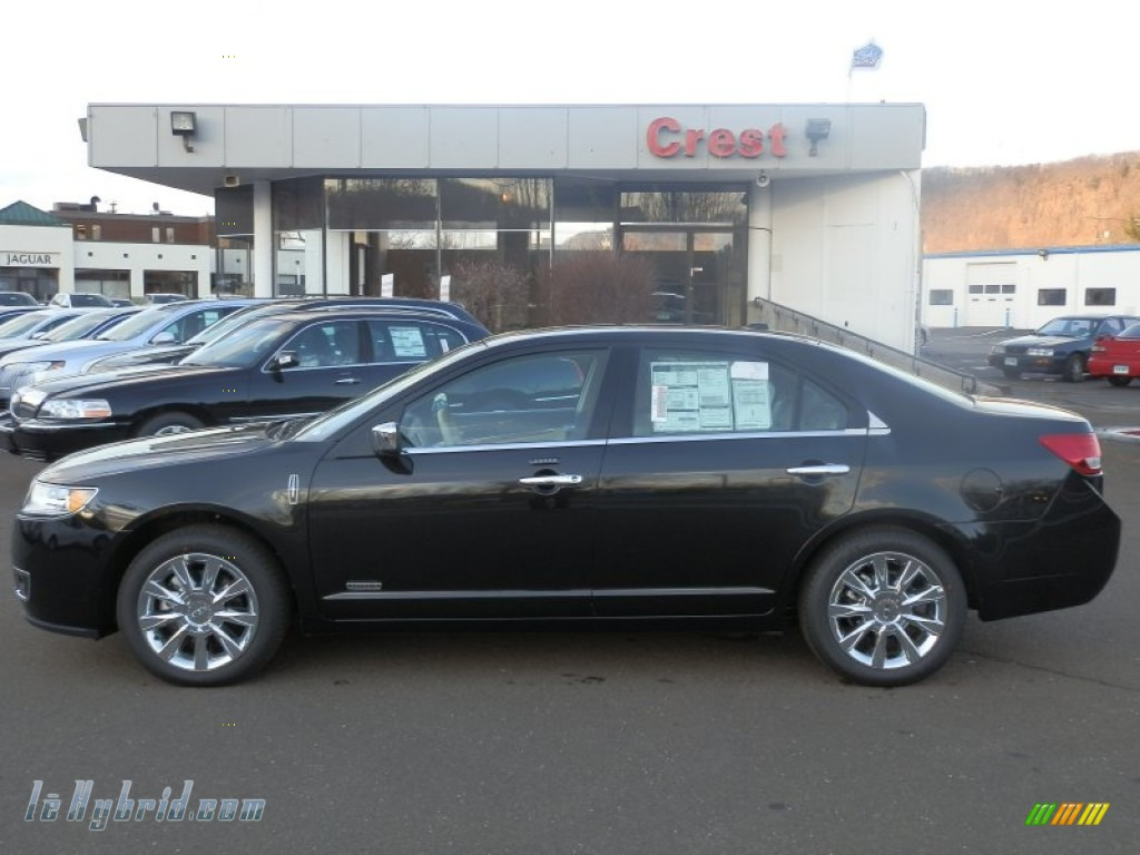 2012 lincoln mkz hybrid in black 810932 hybrid cars gasoline electric. Black Bedroom Furniture Sets. Home Design Ideas
