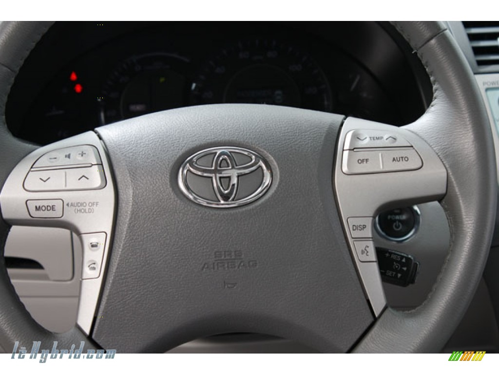 2008 Camry Hybrid - Black / Ash photo #8