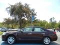 Lincoln MKZ Hybrid Bordeaux Reserve Metallic photo #2