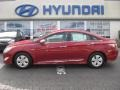 Hyundai Sonata Hybrid Venetian Red photo #1