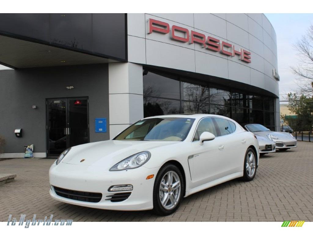 2012 Porsche Panamera S Hybrid In Carrara White 045409 Lehybrid