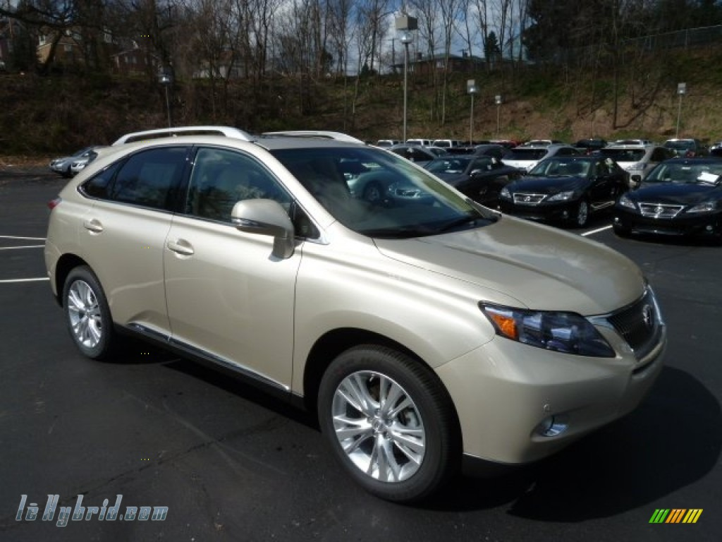 2012 lexus rx 450h awd hybrid in satin cashmere metallic photo 6 433622. Black Bedroom Furniture Sets. Home Design Ideas