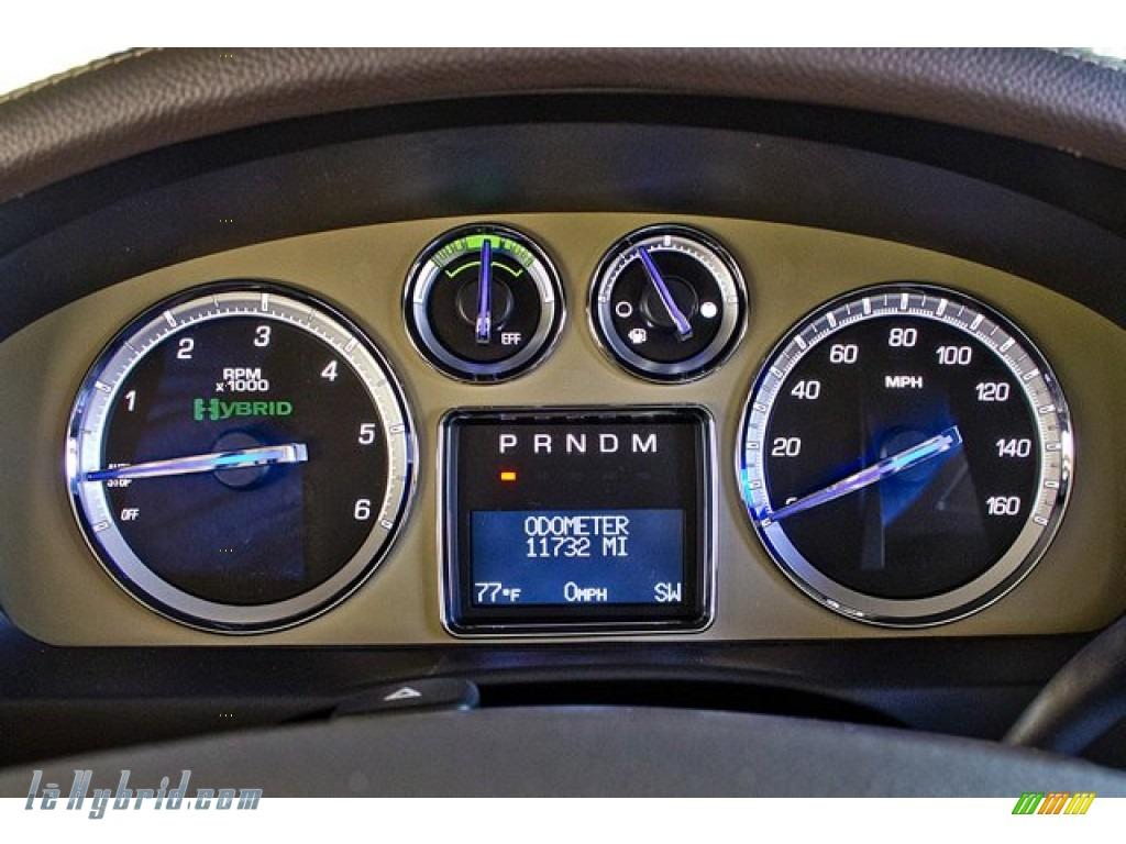 2011 Cadillac Escalade Hybrid Platinum Awd In Infrared