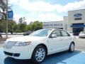 Lincoln MKZ Hybrid White Platinum Metallic Tri-Coat photo #1
