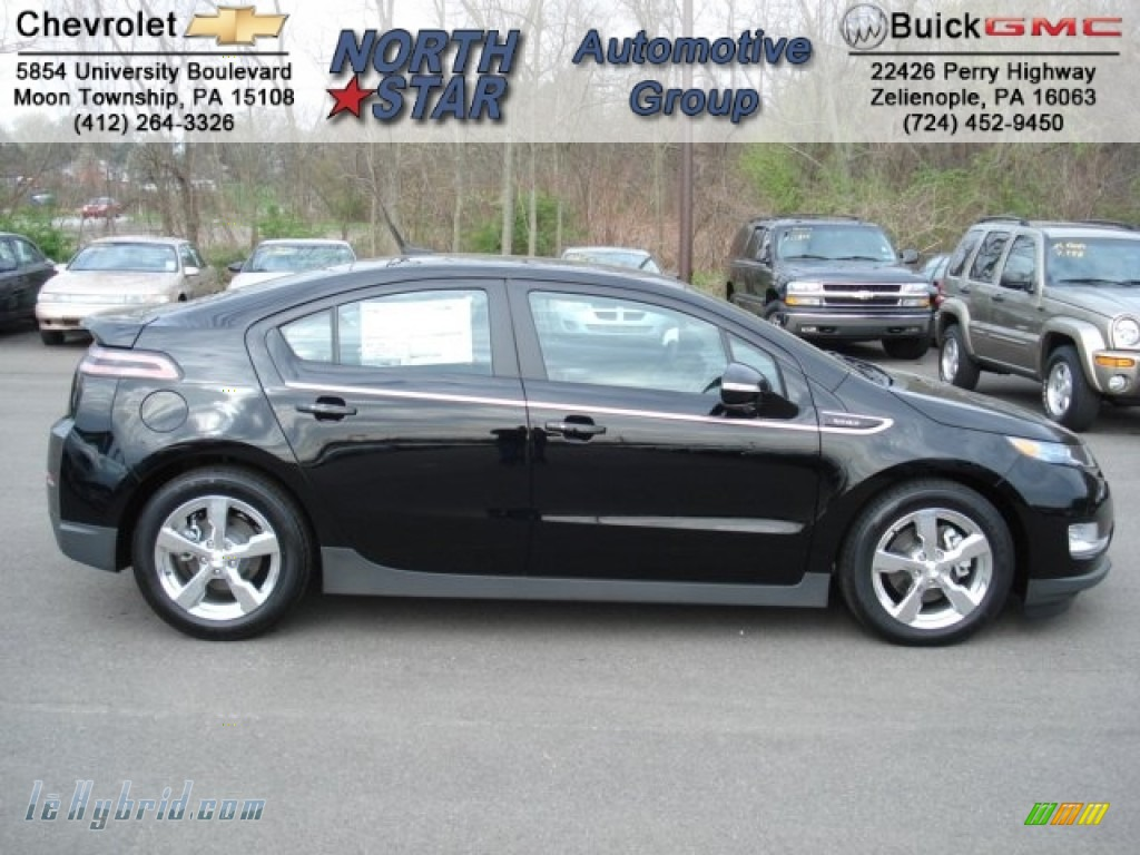 2012 Volt Hatchback - Black / Jet Black/Dark Accents photo #1