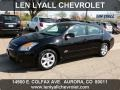 Nissan Altima Hybrid Super Black photo #1