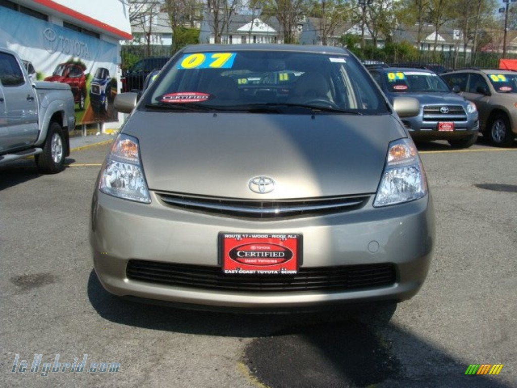 2007 Prius Hybrid - Driftwood Pearl / Bisque Beige photo #2