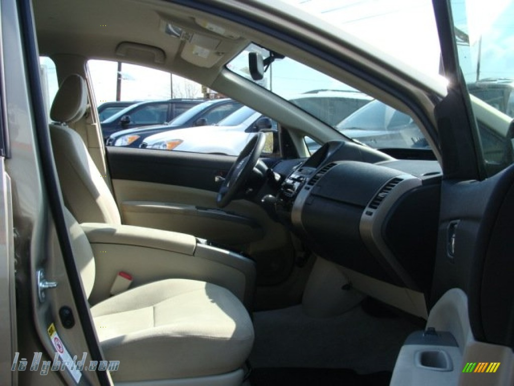 2007 Prius Hybrid - Driftwood Pearl / Bisque Beige photo #8