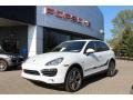 Porsche Cayenne S Hybrid White photo #1