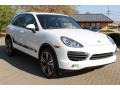 Porsche Cayenne S Hybrid White photo #3