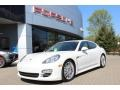 Porsche Panamera S Hybrid Carrara White photo #1