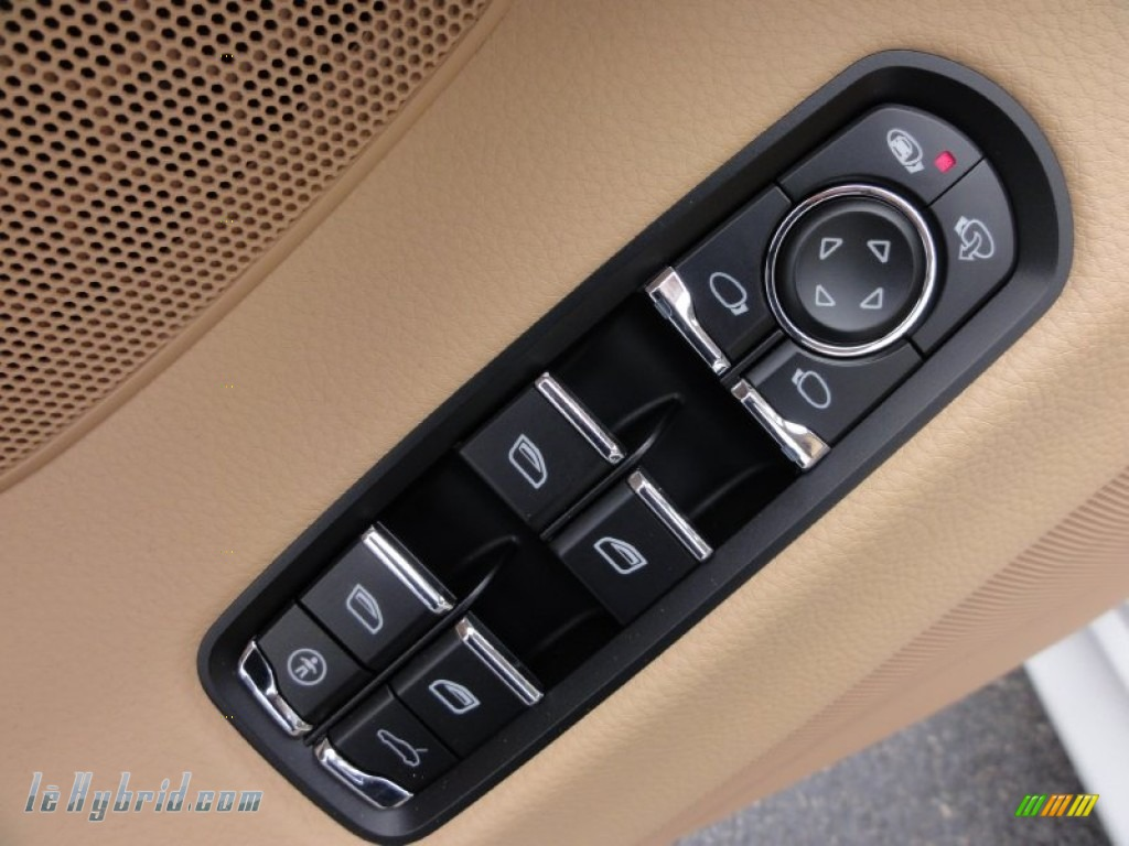 2012 Panamera S Hybrid - Carrara White / Luxor Beige photo #15