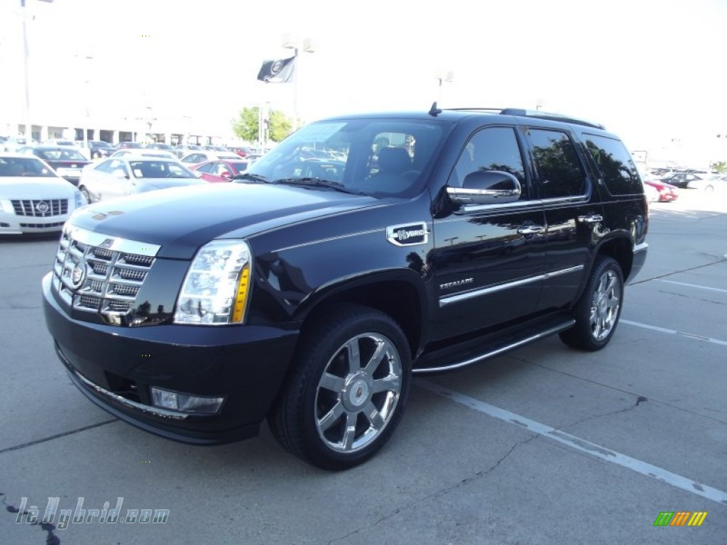 2012 Escalade Hybrid - Black Raven / Ebony/Ebony photo #1