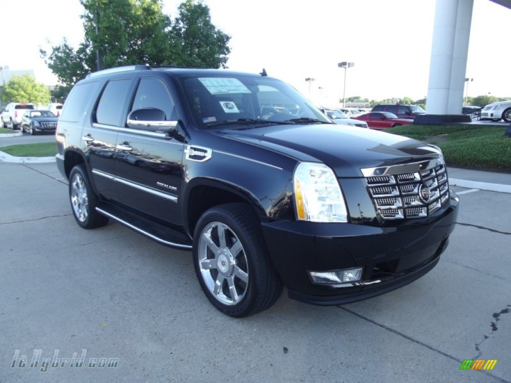 2012 cadillac escalade hybrid in black raven photo 2. Black Bedroom Furniture Sets. Home Design Ideas