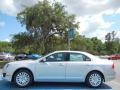 Ford Fusion Hybrid Ingot Silver Metallic photo #2