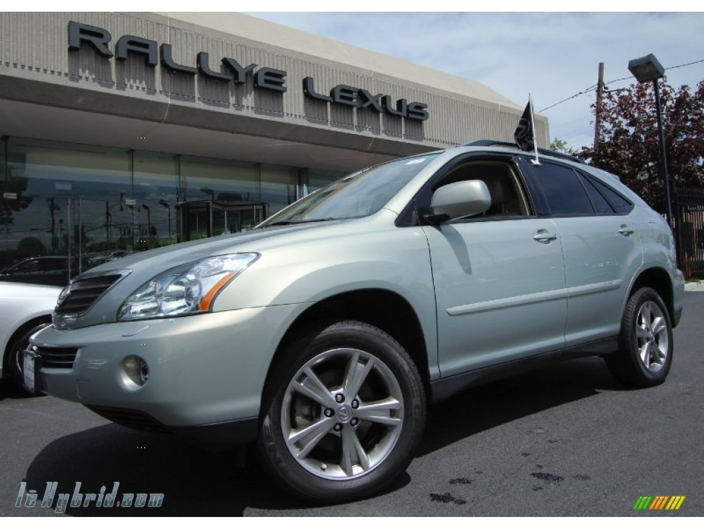 2007 RX 400h AWD Hybrid - Bamboo Green Pearl / Ivory photo #1