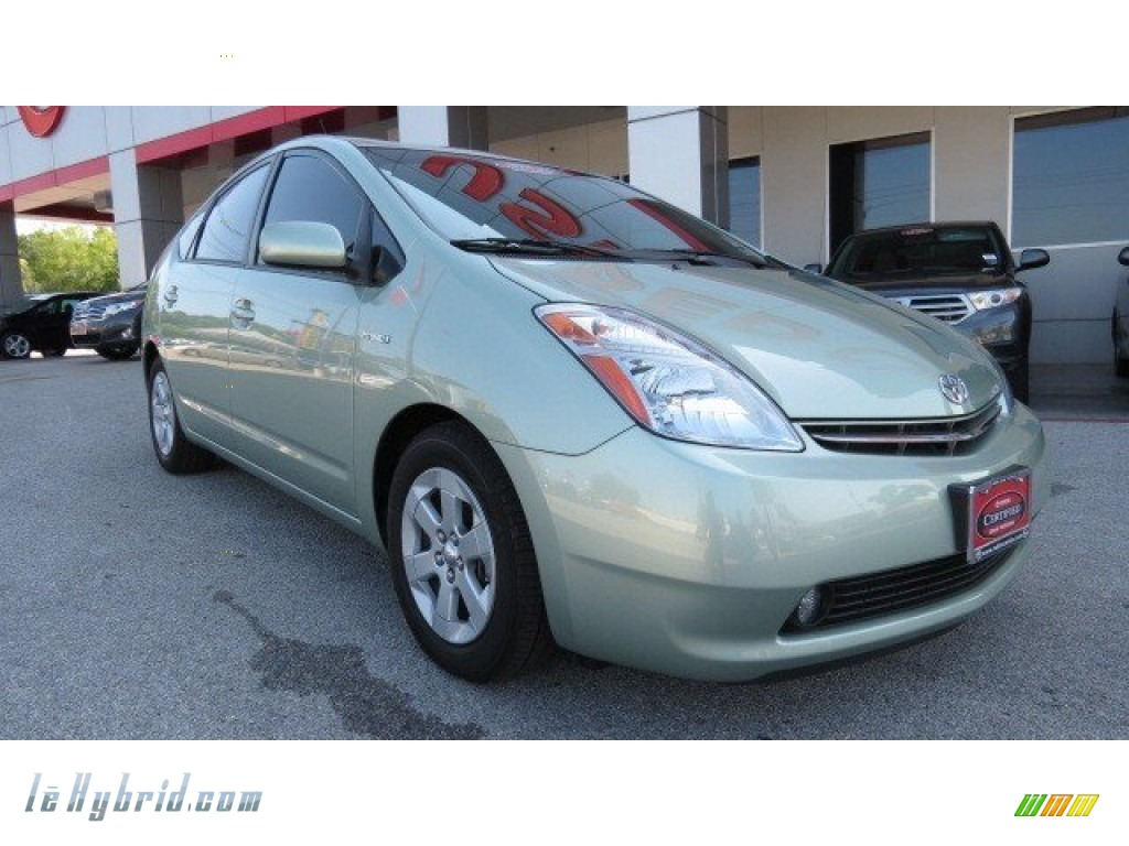2009 Prius Hybrid - Silver Pine Mica / Dark Gray photo #1