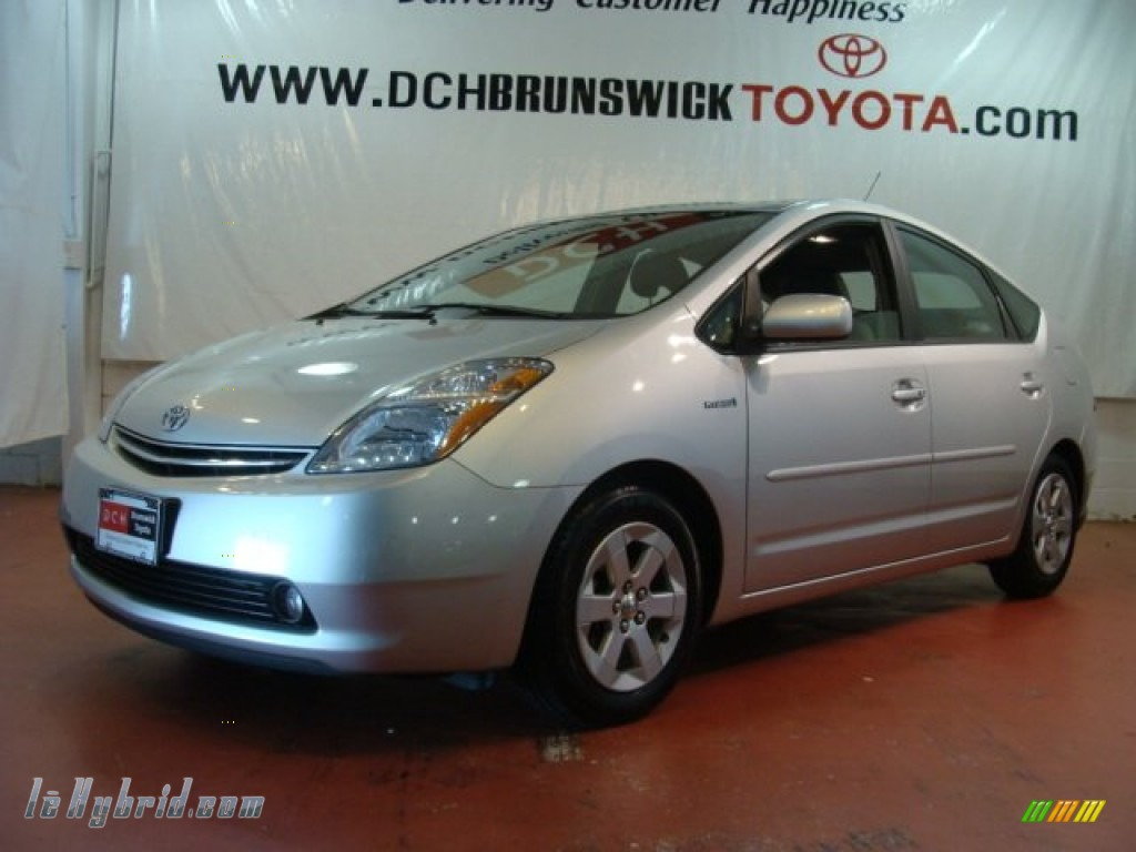 2008 Prius Hybrid - Classic Silver Metallic / Gray photo #1