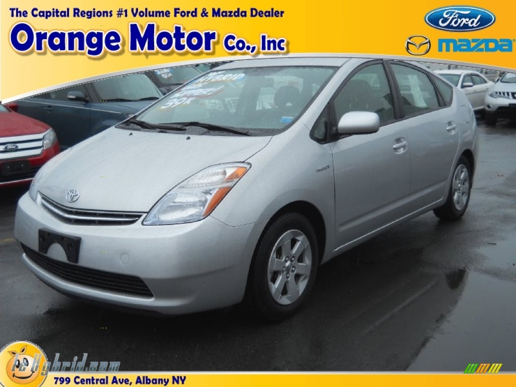 2007 Prius Hybrid - Classic Silver Metallic / Dark Gray photo #1