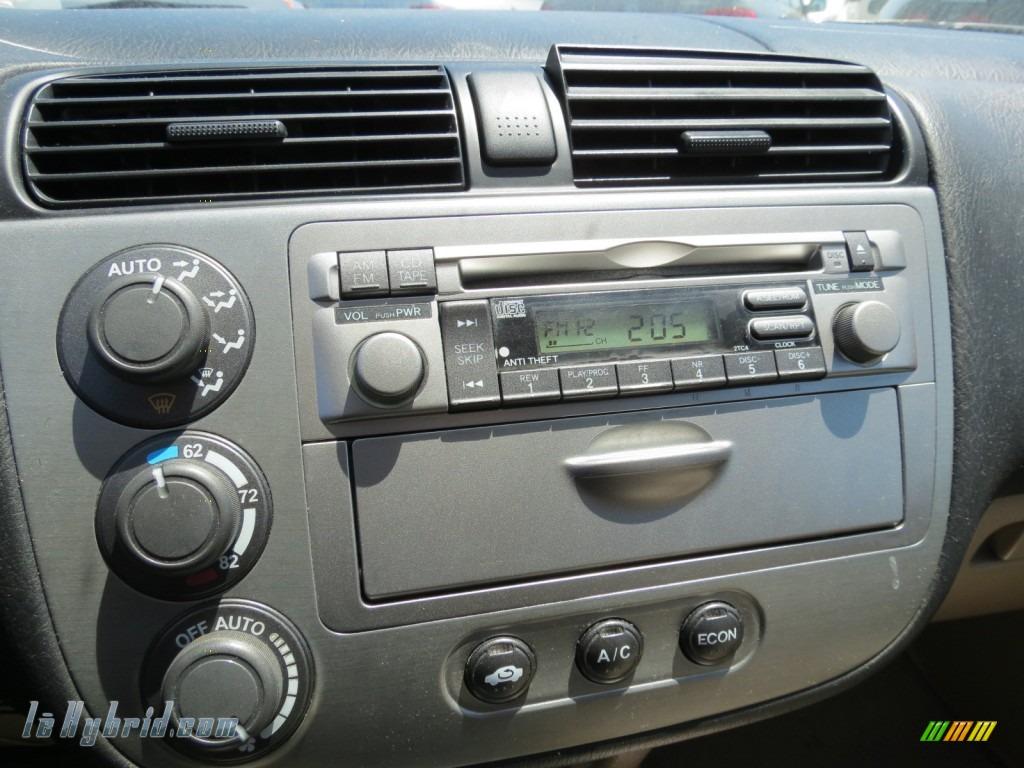 Honda honda civic 2003 hybrid : 2003 Honda Civic Hybrid Sedan in Opal Silver Blue Metallic photo ...