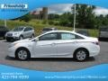Hyundai Sonata Hybrid Porcelain White Pearl photo #2