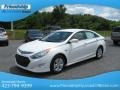 Hyundai Sonata Hybrid Porcelain White Pearl photo #3