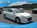 Hyundai Sonata Hybrid Porcelain White Pearl photo #5