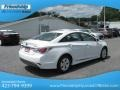 Hyundai Sonata Hybrid Porcelain White Pearl photo #7