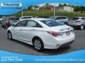 Hyundai Sonata Hybrid Porcelain White Pearl photo #9
