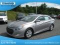 Hyundai Sonata Hybrid Hyper Silver Metallic photo #3