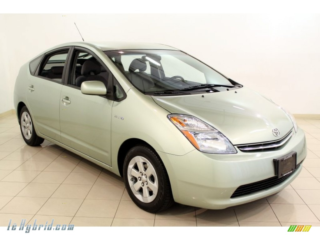 2008 Prius Hybrid - Silver Pine Mica / Gray photo #1